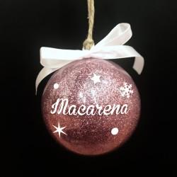 Bola de navidad con nombre